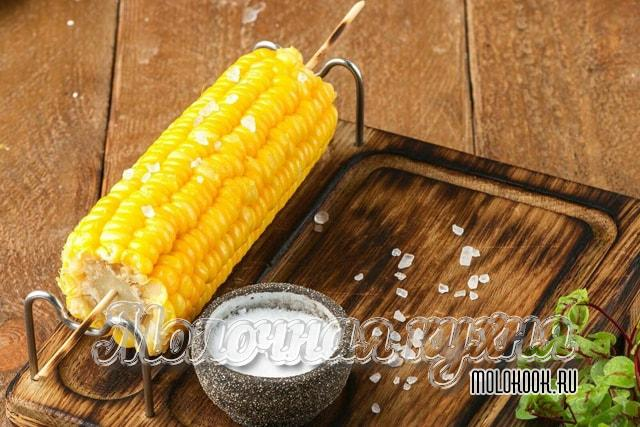 Как сварить старую кукурузу