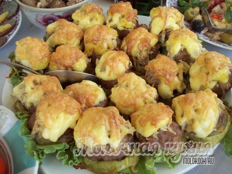 Стожки с картофелем