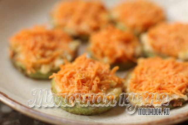 Рецепт с морковкой и плавленым сырком