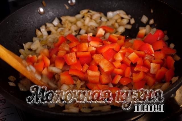 Болгарский перец добавлен