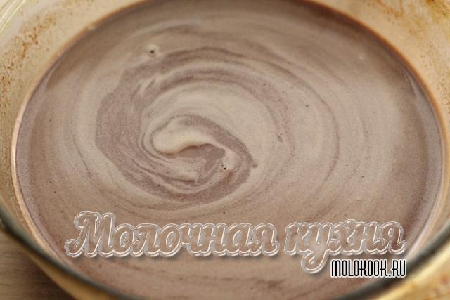 Шоколадно-молочная смесь