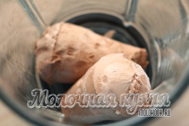 Мороженое в блендере