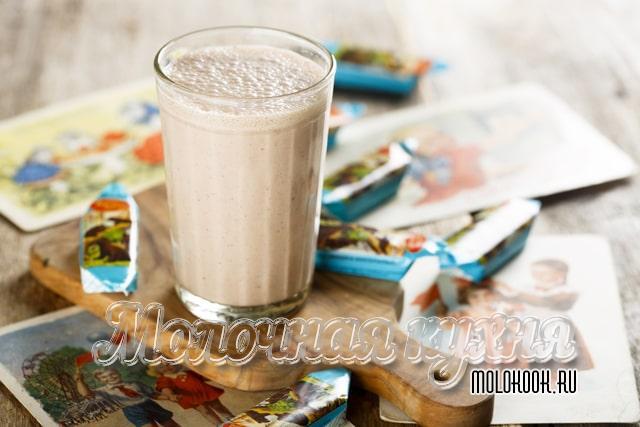 Молочный коктейль как готовили в СССР