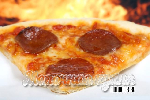 Американская пицца в домашних условиях