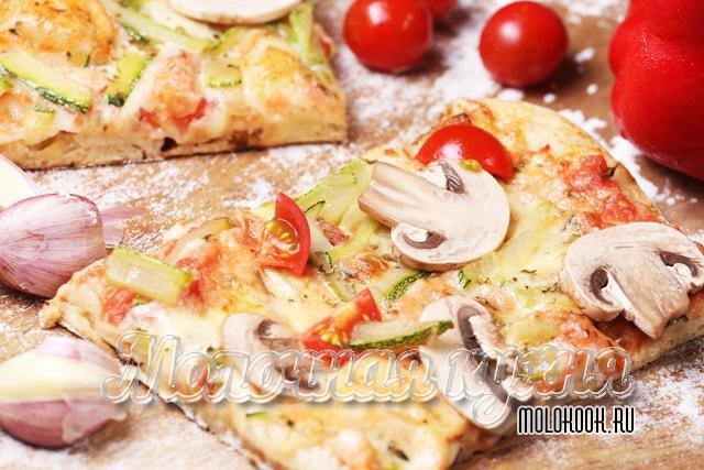 Пицца, приготовленная на рассоле