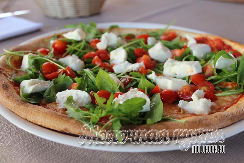 Рецепт теста для пиццы - как делают в пиццериях
