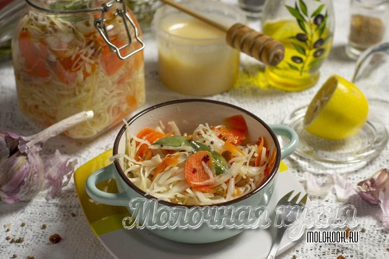 Быстрая маринованная капуста - самые вкусные рецепты приготовления