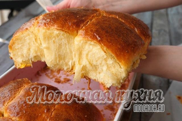 Тесто на кефире с приготовлением опары