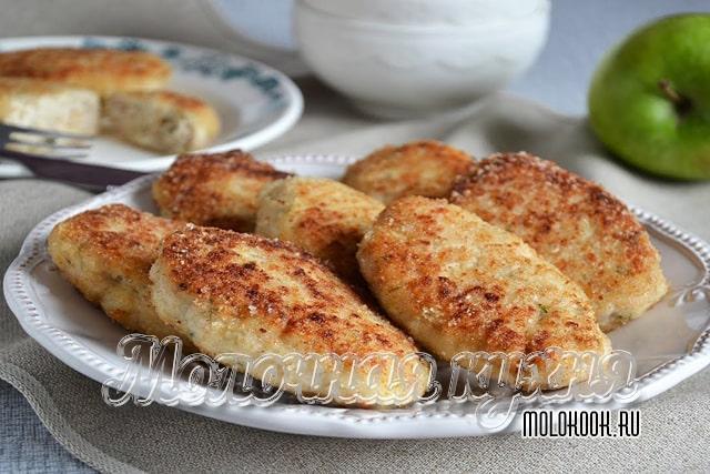 Вариант приготвления без хлеба, с манной крупой