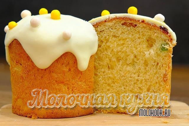 Печерский кулич с желтками из хлебопечи