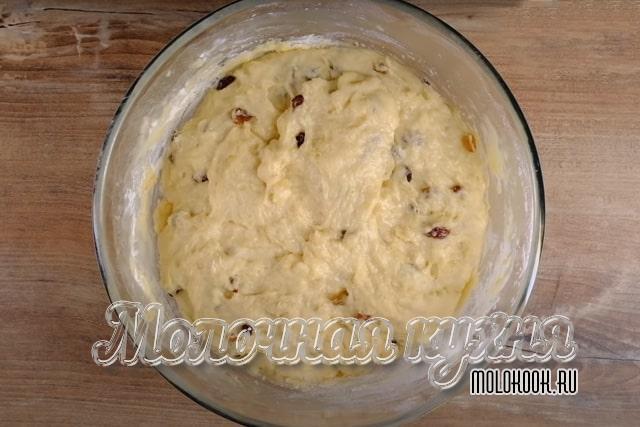 Мягкое, маслянистое тесто готово