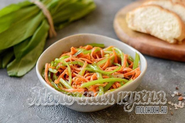Рецепт корейского салата
