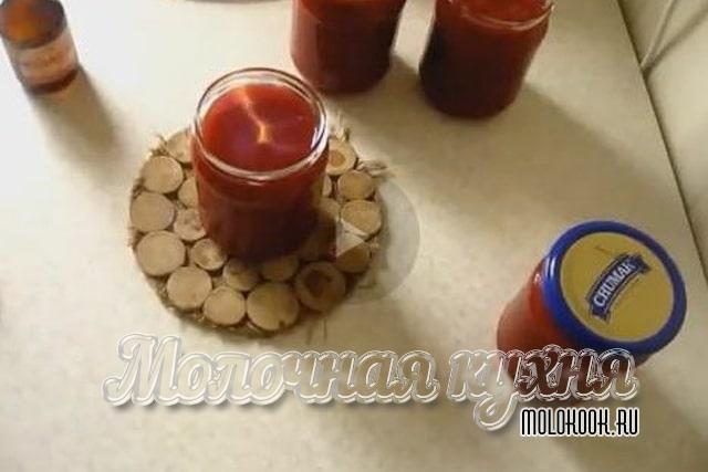 Использование горящего спирта