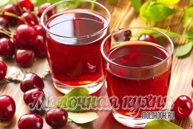 Рецепт из сушеной или вяленой вишни