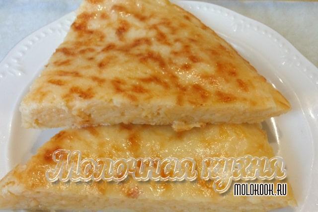 Ленивый рецепт хачапури с сыром
