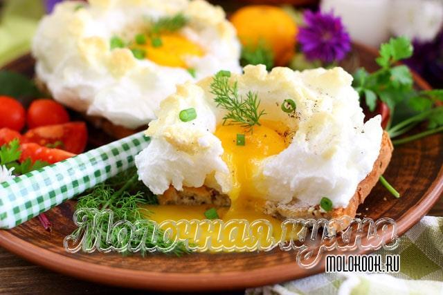 Яичные гнезда в духовке